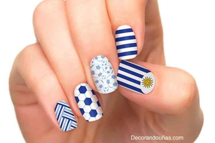 Unas Decoradas Mundial 2014 - Uruguay