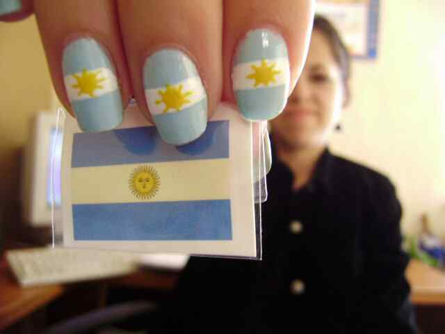 Unas pintadas mundial 2014 - Argentina
