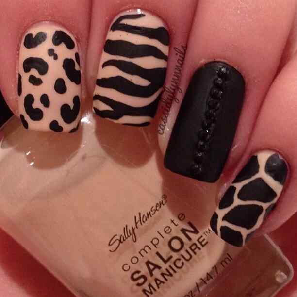 animal print nails (16)