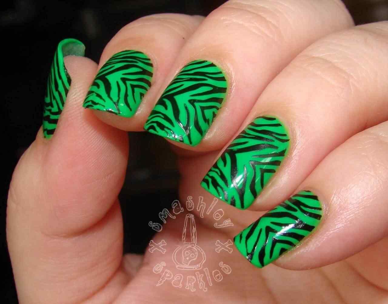 animal print nails (17)