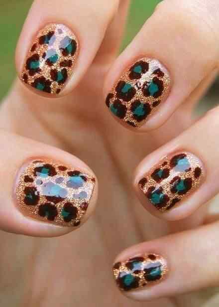 animal print nails (2)