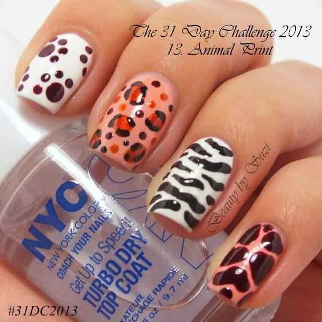 animal print nails (7)