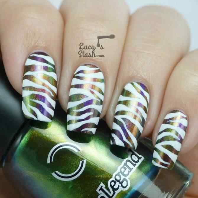 animal print nails (8)