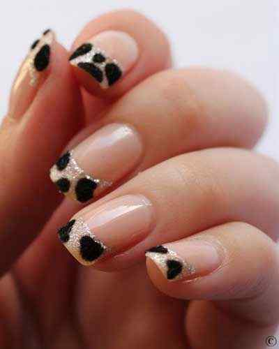 animal print nails images (1)