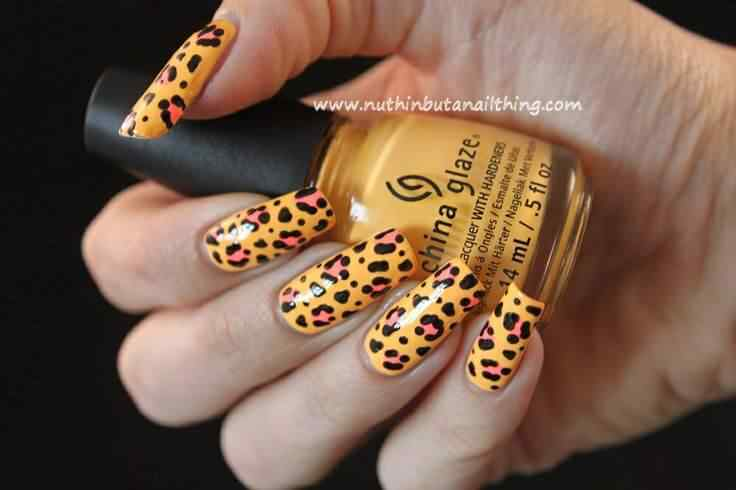 animal print nails images (11)