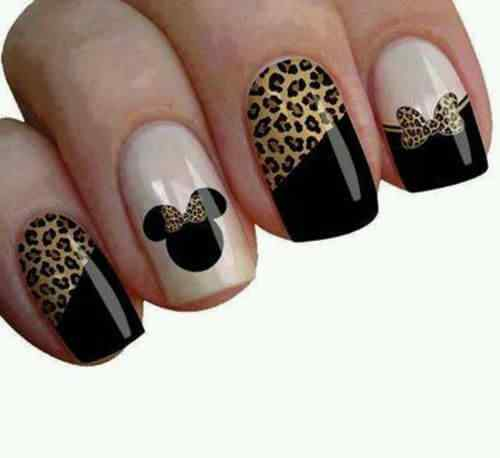 animal print nails images (17)