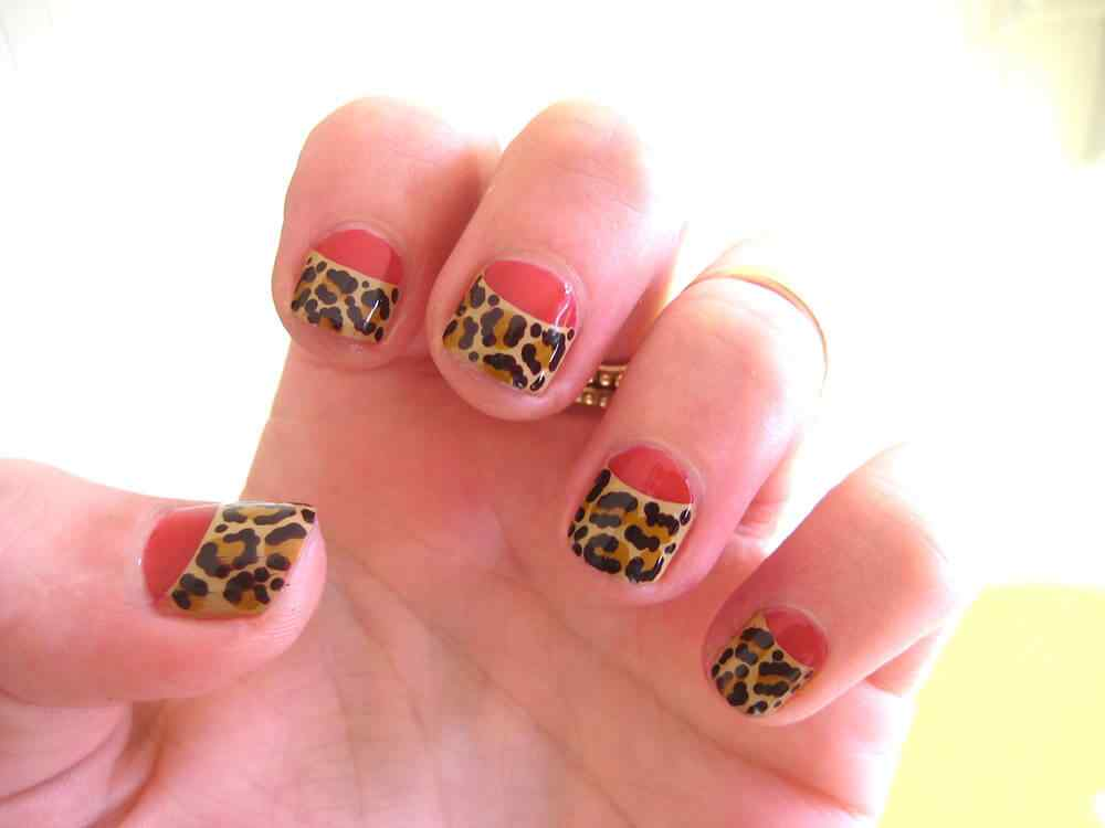 animal print nails images (5)