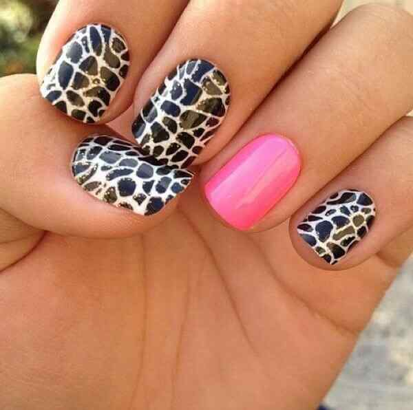 animal print nails images (6)
