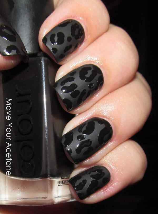 animal print nails images (8)