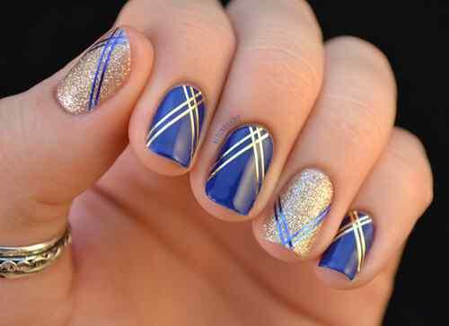 pintar unas color azul (7)