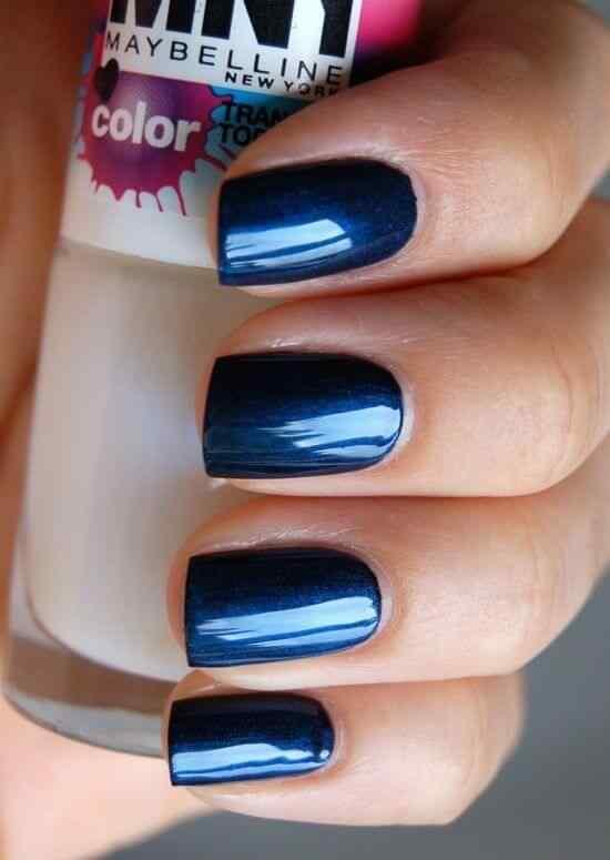 unas de color azul (7)