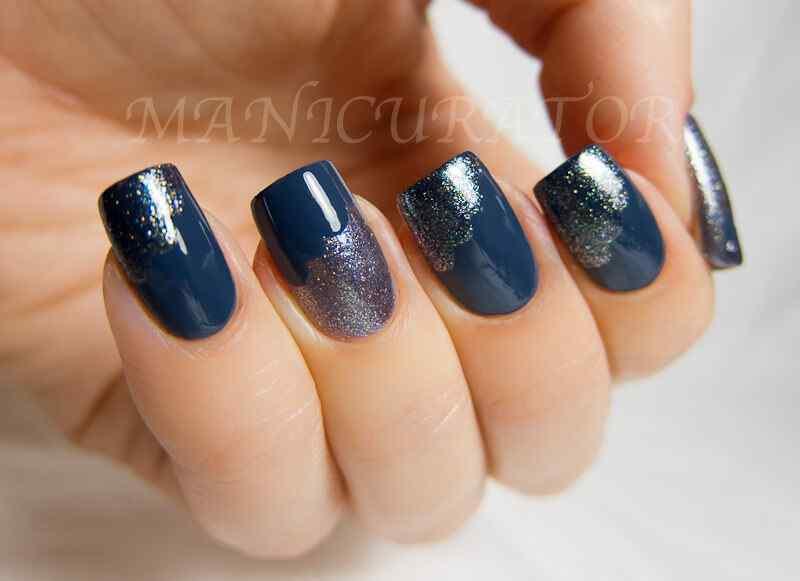 unas de color azul (8)