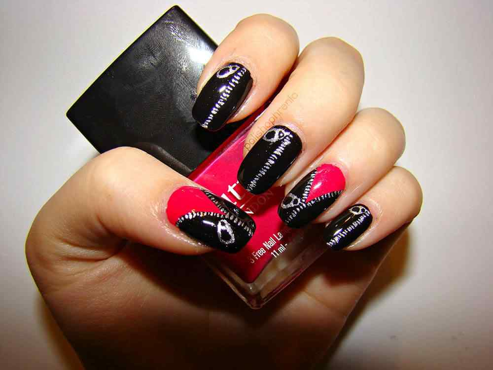 Louboutin nails design