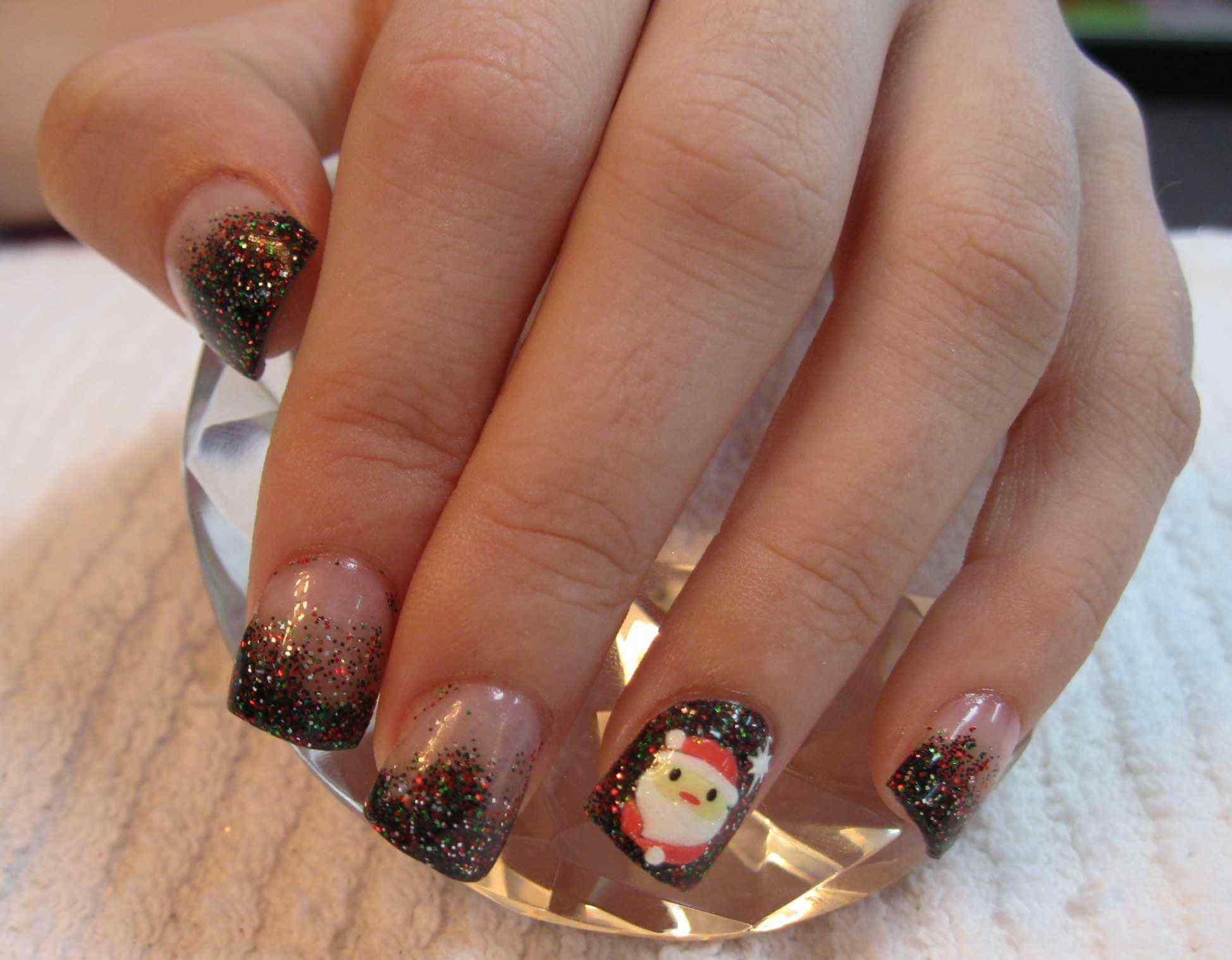 Nail art christmas (1)