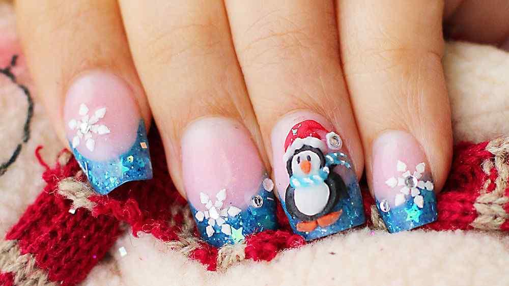 Nail art christmas (10)