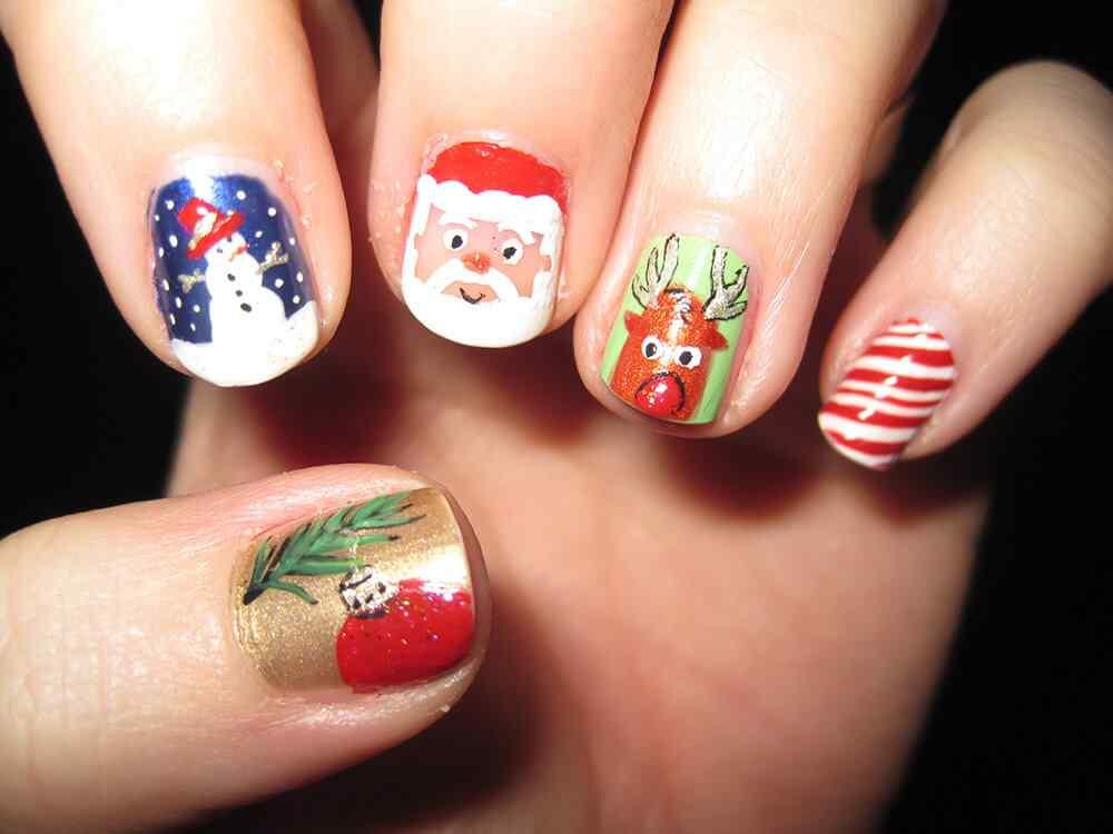 Nail art christmas (2)