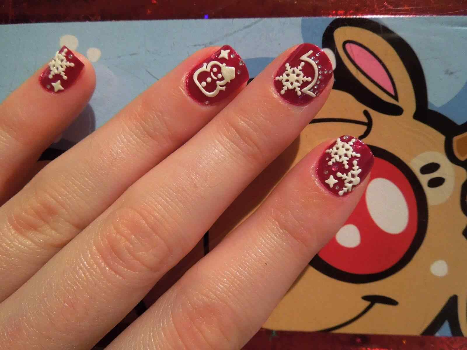 Nail art christmas (4)