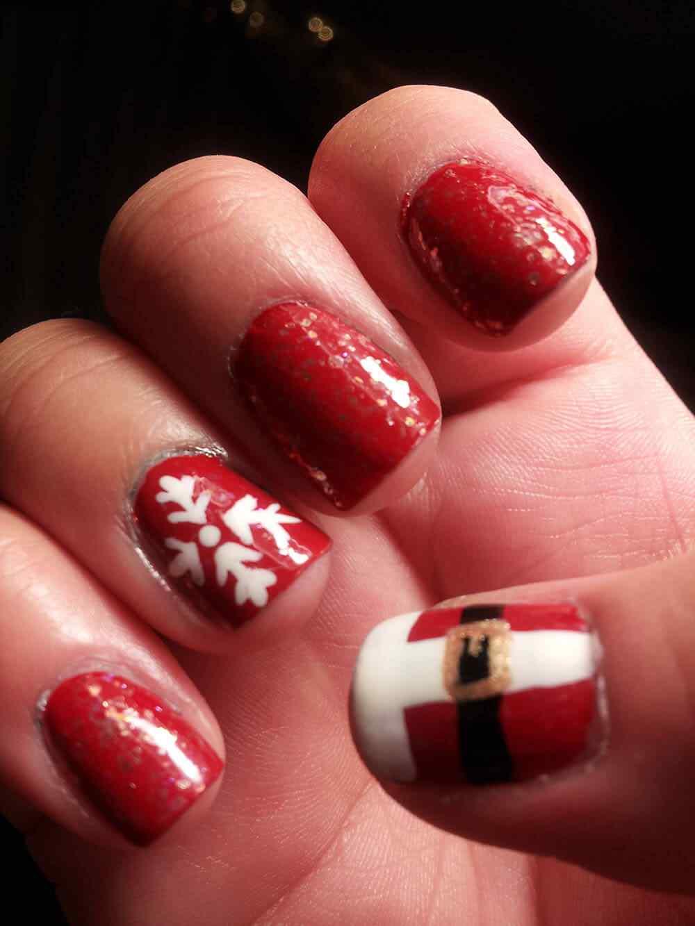 Nail art christmas (5)