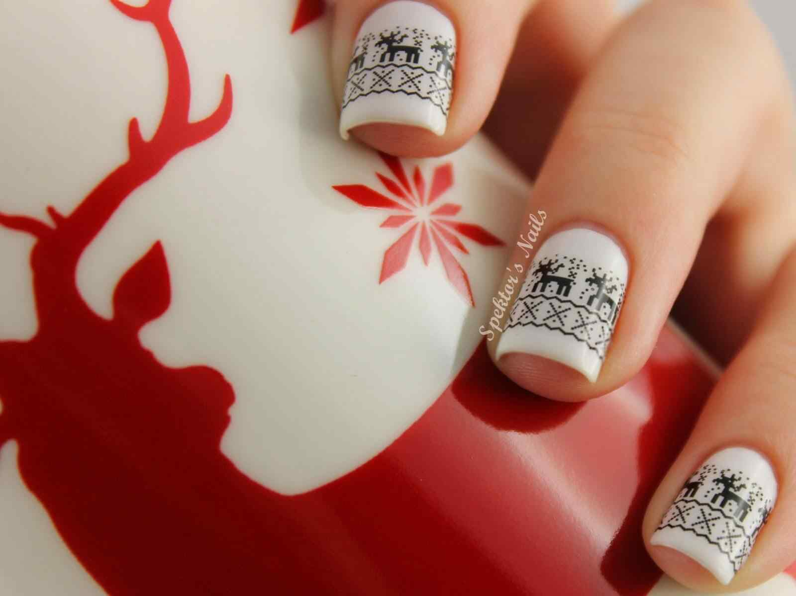 Nail art christmas (8)