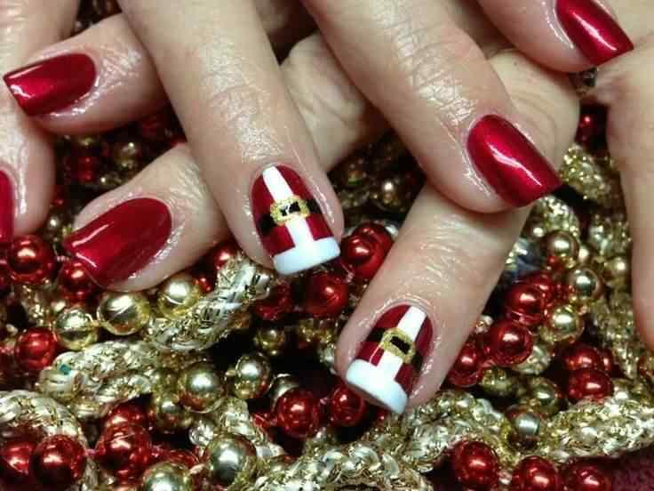 Unas de navidad (1)