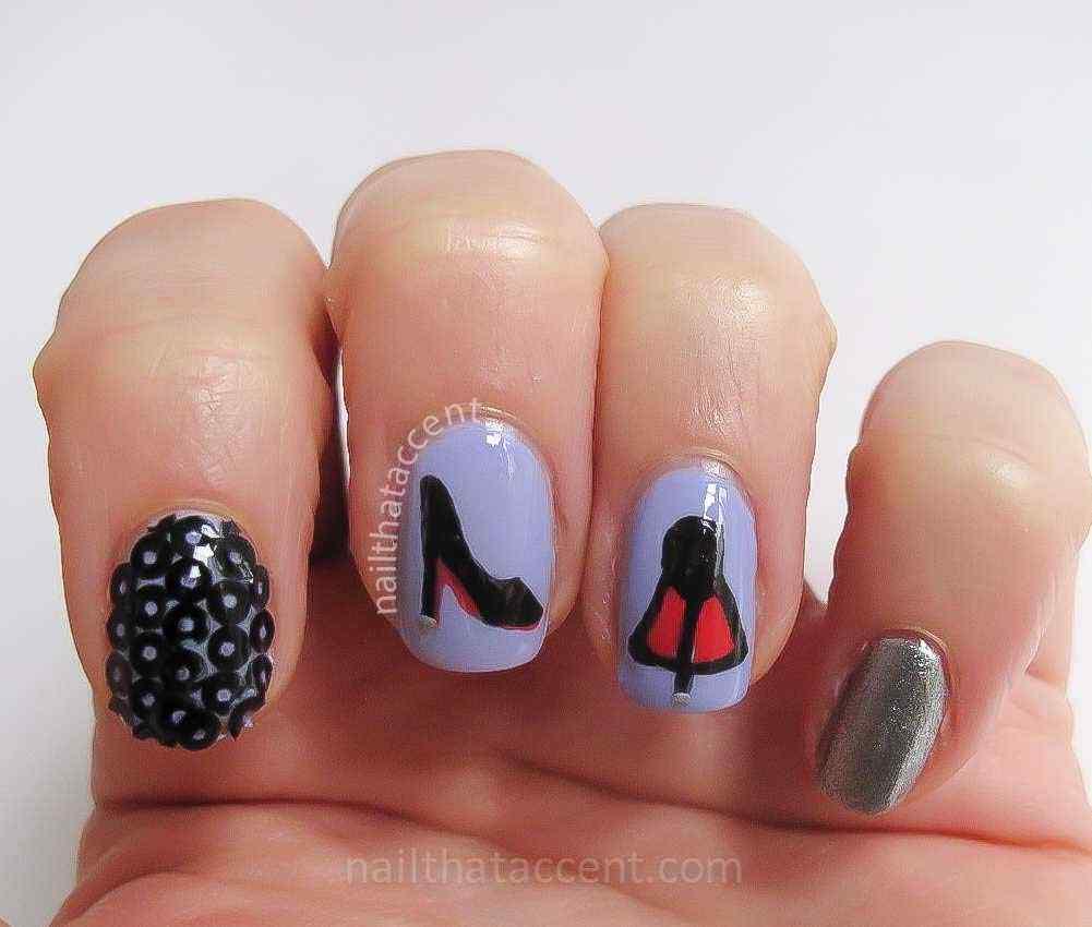 louboutin nail art
