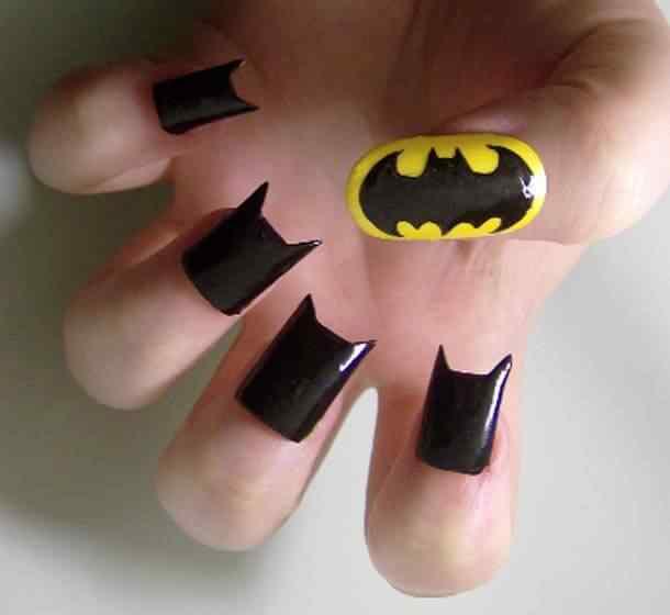 Decoracion unas batman