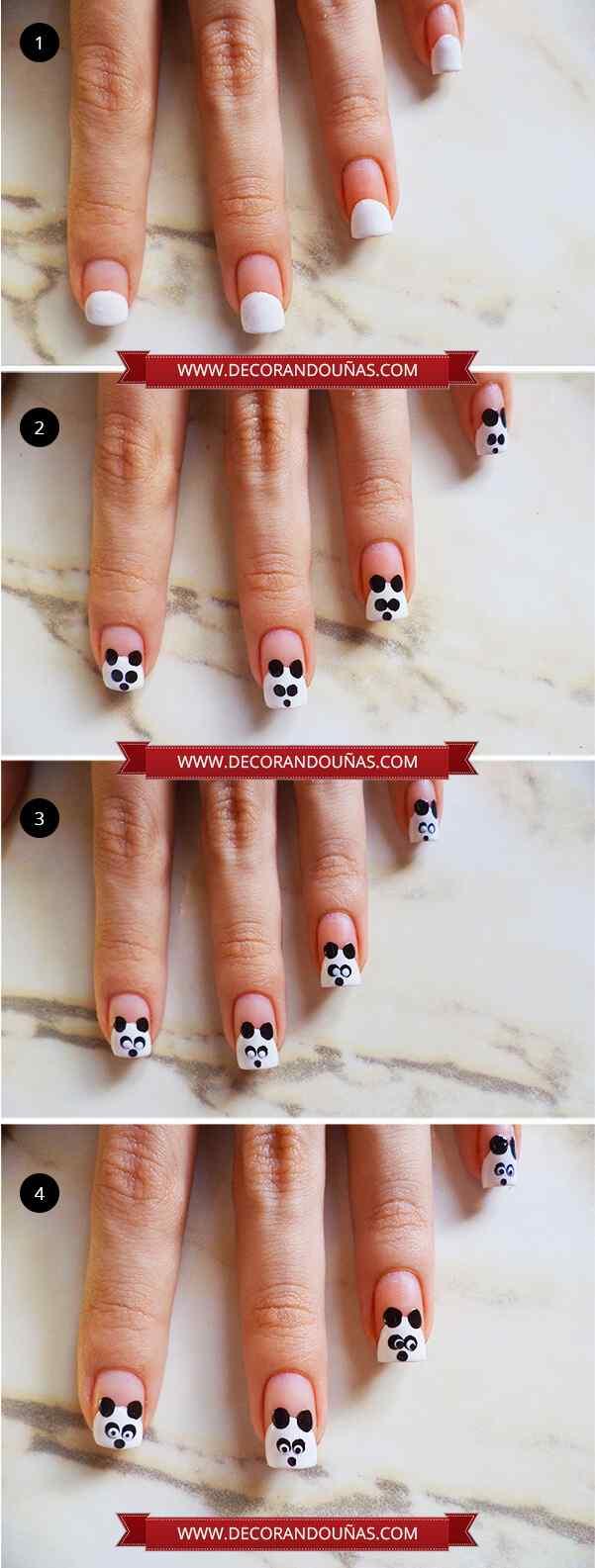 Unas-decoradas-con-panda