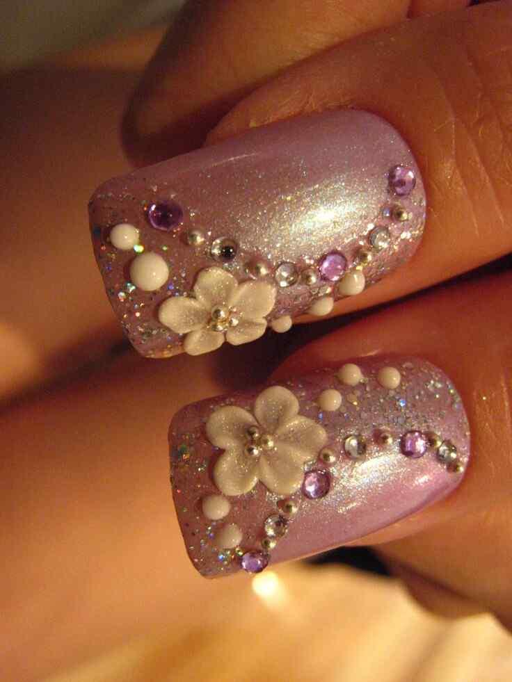 2014 bridal nails (1)