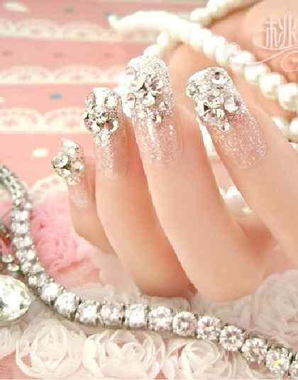 2014 bridal nails (2)