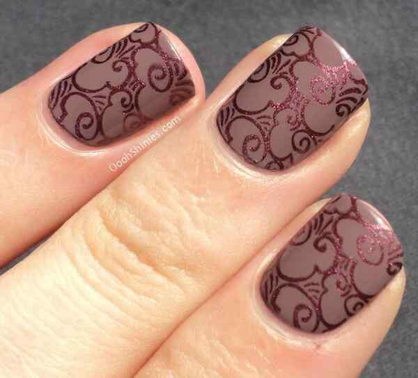 Brown nails (10)