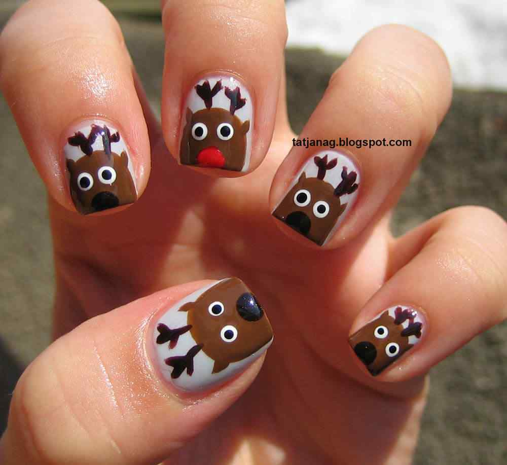 Brown nails (7)