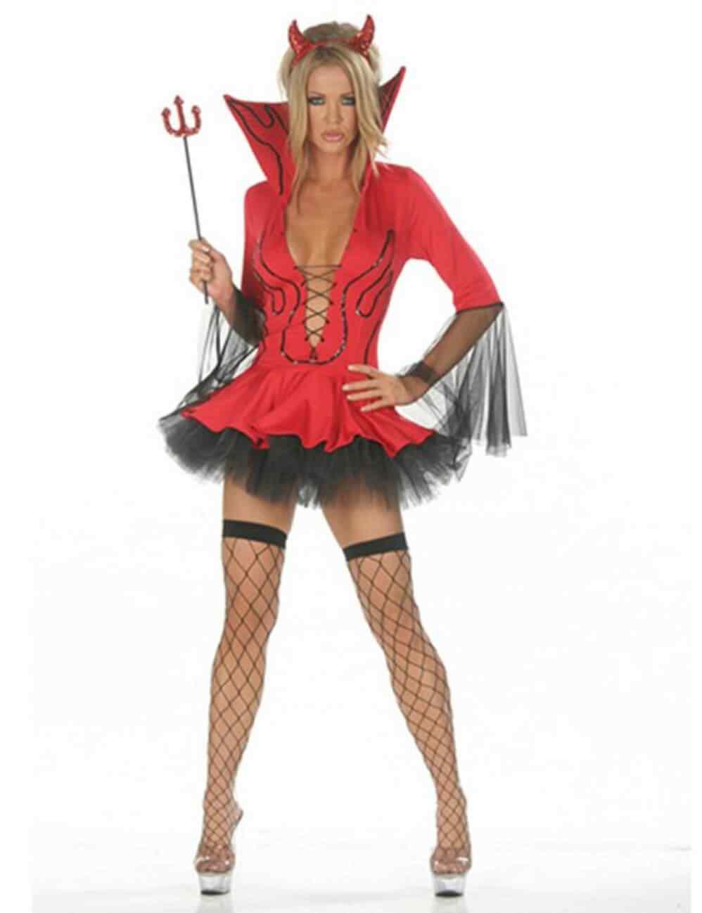 Disfraces Halloween para Mujer Diablita