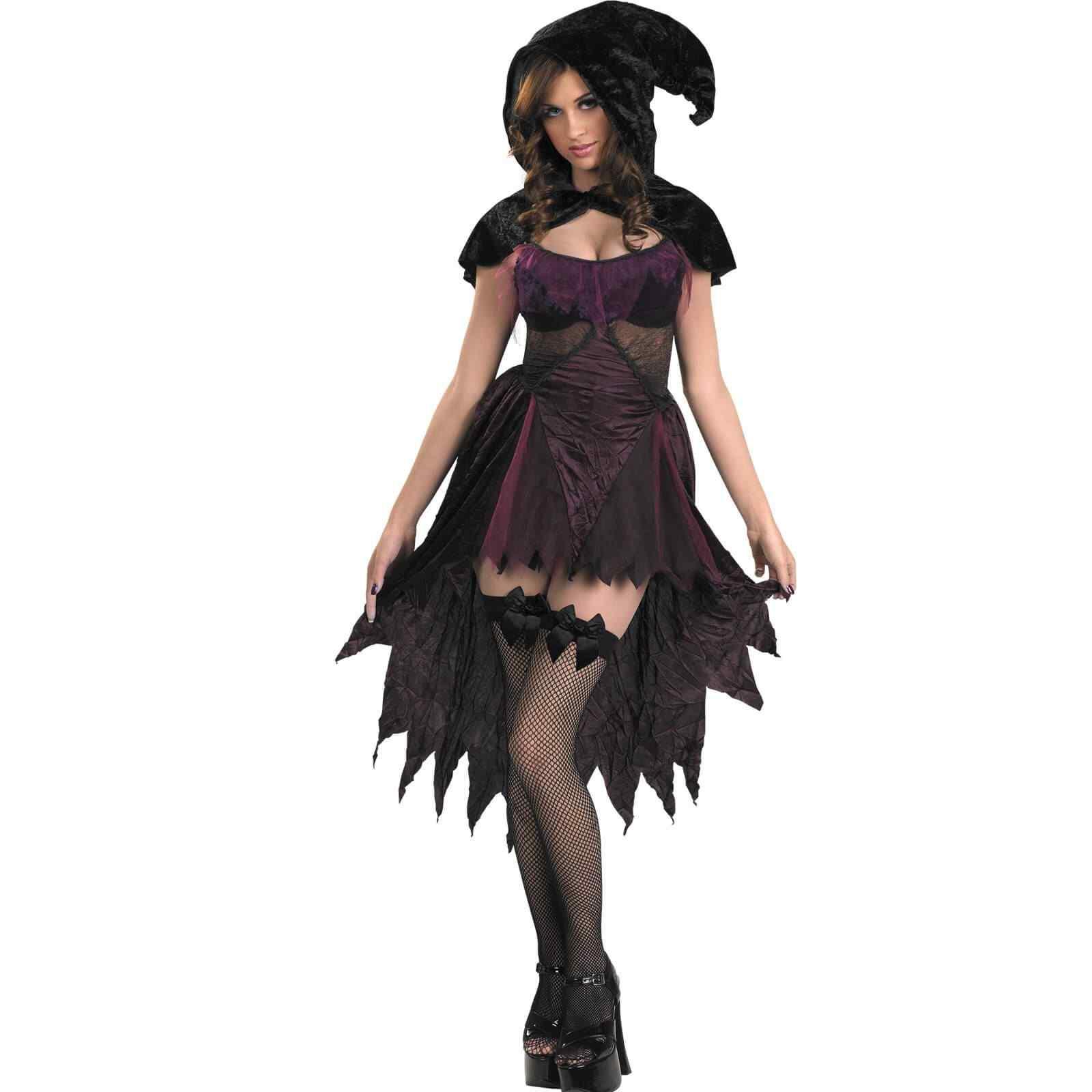 Disfraces Halloween para Mujer bruja negra
