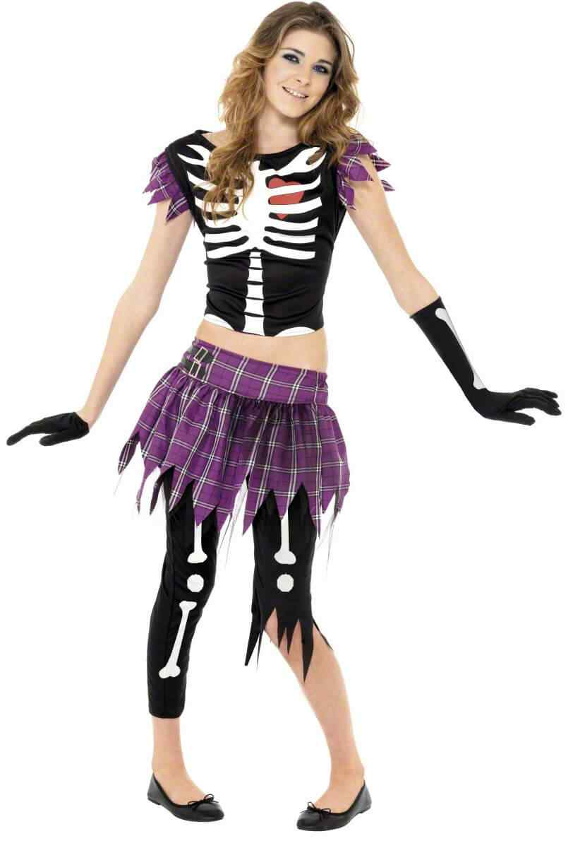 Disfraces Halloween para Mujer calavera