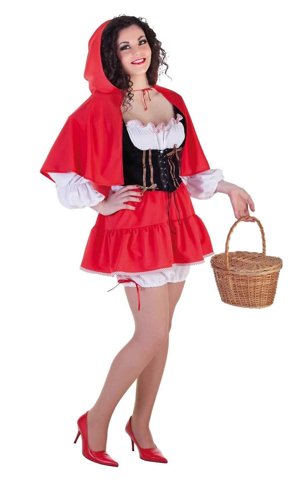 Disfraces Halloween para Mujer caperucita roja