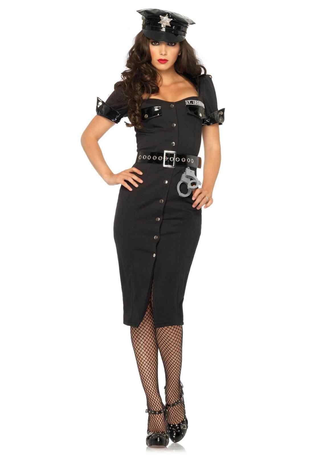 Disfraces Halloween para Mujer policia sexy