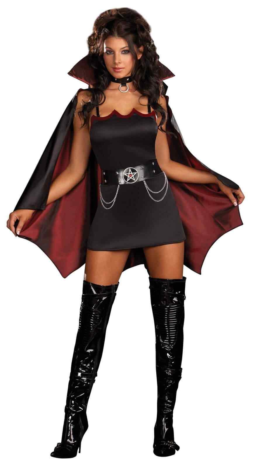 Disfraces Halloween para Mujer vampira