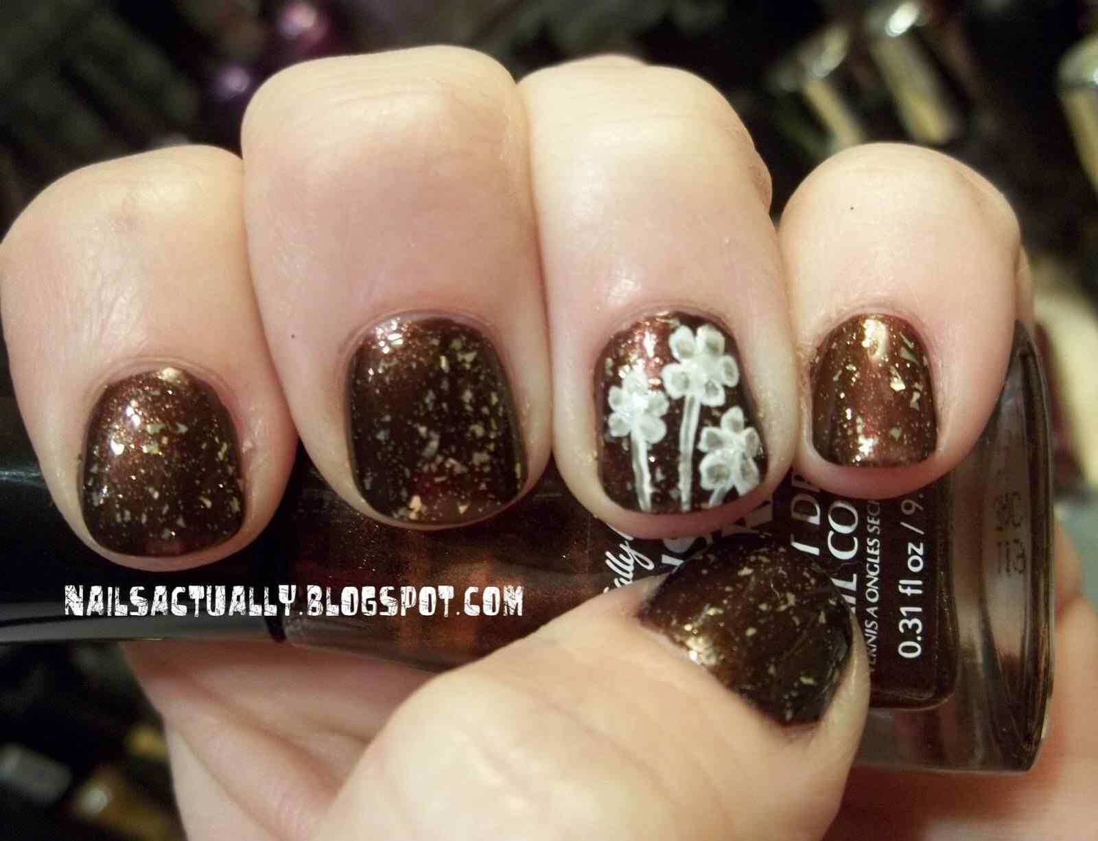 Unas decoradas marron (3)
