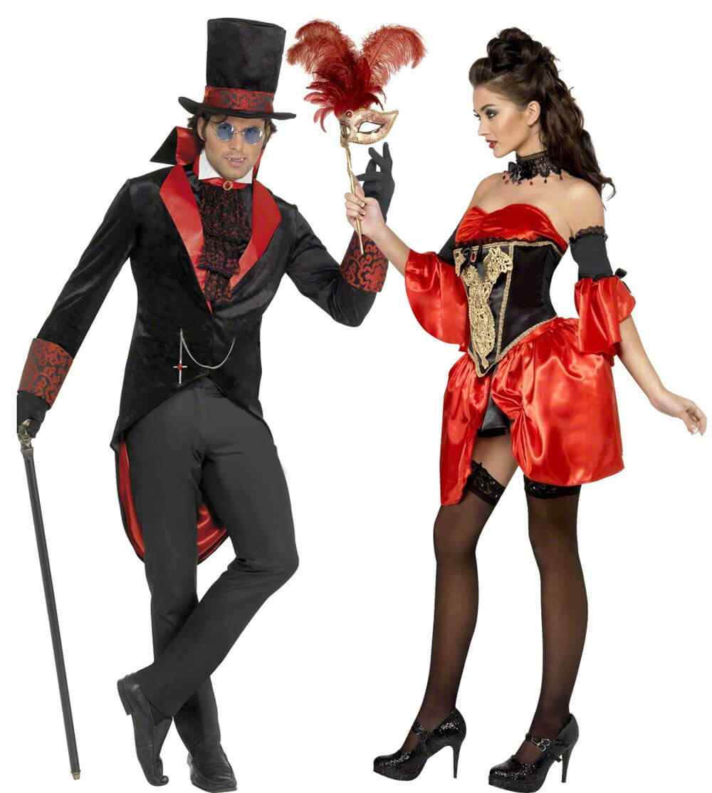 Disfraces halloween parejas duque