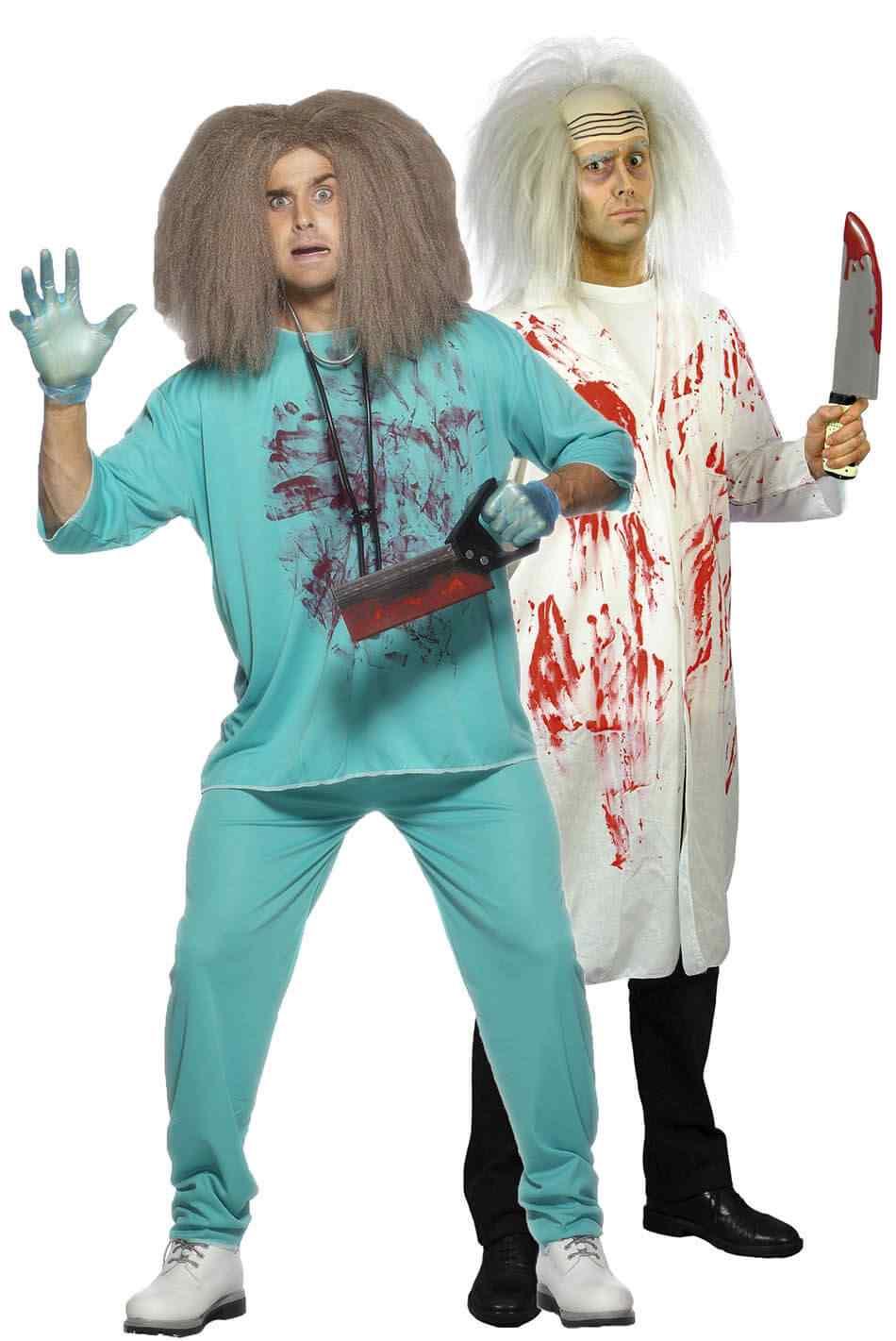 Disfraces halloween parejas medicos