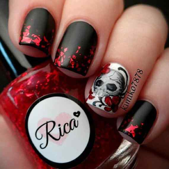 Halloween nails 2014 (1)