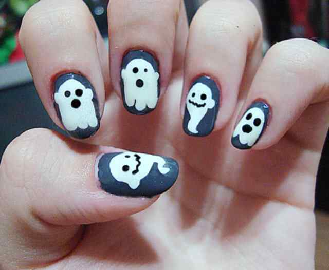 Halloween nails 2014 (10)