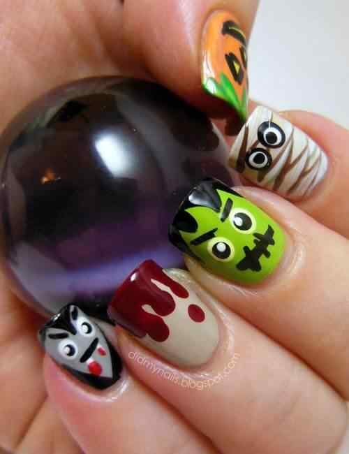 Halloween nails 2014 (6)