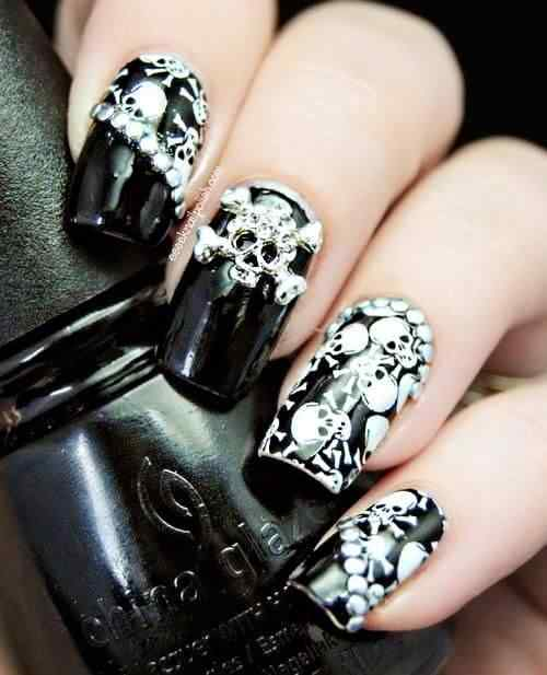 Halloween nails 2014 (7)