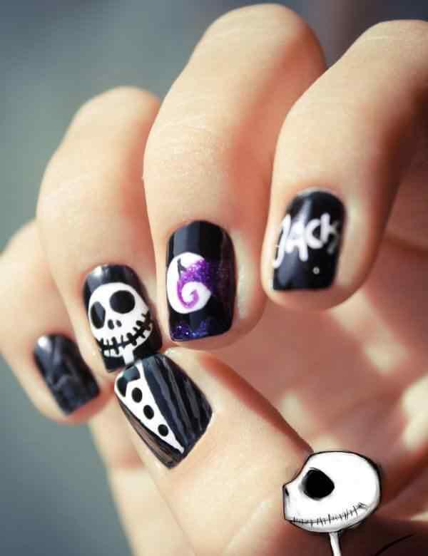 Unas de Halloween 2014 (9)