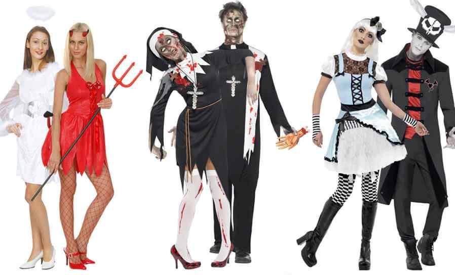 Disfraces de Hallowen para parejas