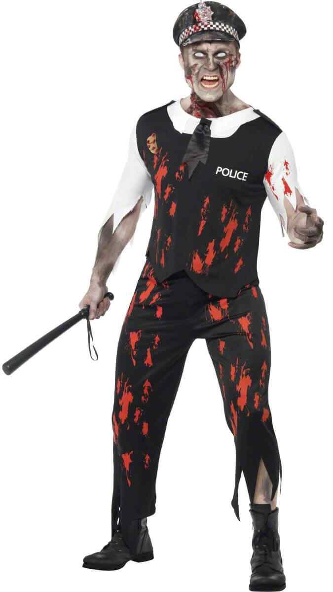 policia zombie