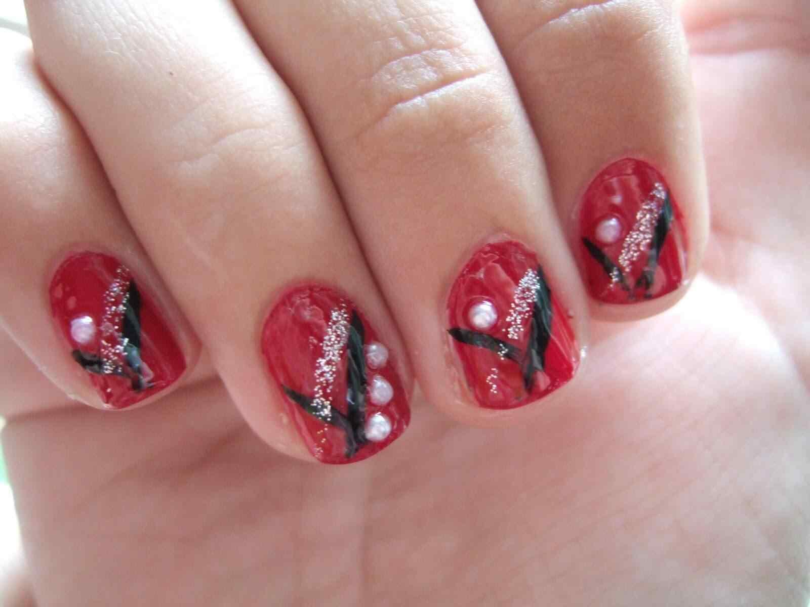 unas decoradas rojas 2015 (1)