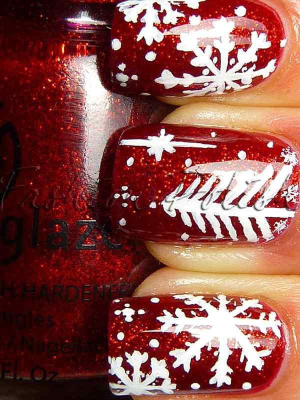 unas decoradas rojas 2015 (2)