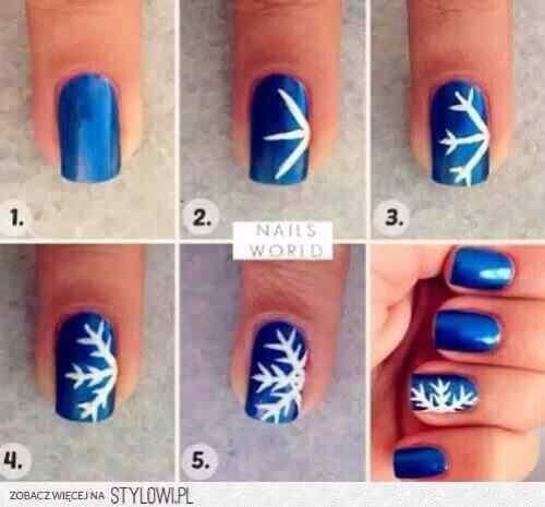 2014 crhistmas nails (1)
